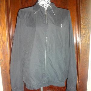Ralph Lauren Polo Golf black zip up jacket Large